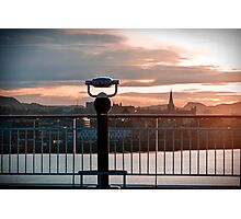 Trondheim, The View. Photographic Print