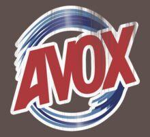 Avox Logo (distressed) Kids Clothes