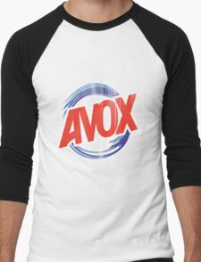 Avox Logo (distressed) Men's Baseball ¾ T-Shirt