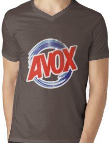 Avox Logo (distressed) Mens V-Neck T-Shirt