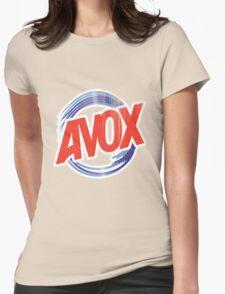 Avox Logo (distressed) Womens Fitted T-Shirt