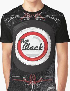 Flat Black Graphic T-Shirt