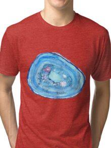 Blue Agate Tri-blend T-Shirt