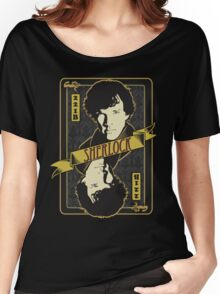 221B Playing Card Women's Relaxed Fit T-Shirt