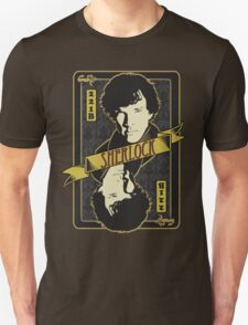 221B Playing Card T-Shirt