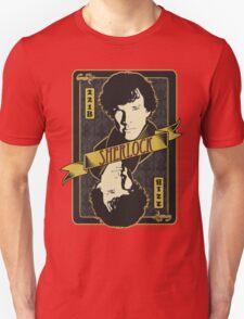 221B Playing Card T-Shirt