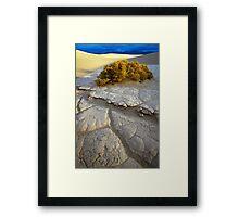 Death Valley Mudflat Framed Print