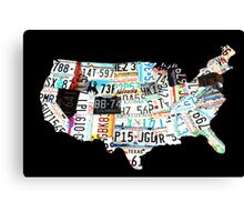 The United States Canvas Print