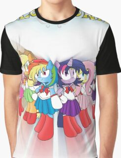 The Sailor Ponies Are Here! Graphic T-Shirt