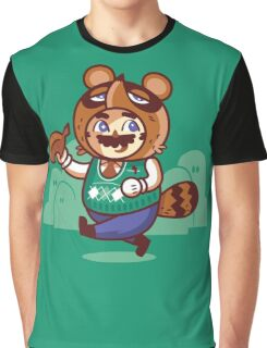 Tomnooki Suit Graphic T-Shirt