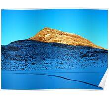 Snowdonia Sunset Poster