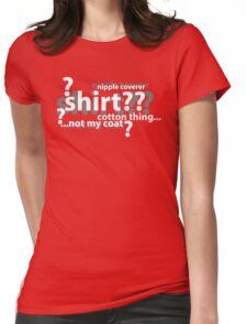 Drunken Deductions Womens Fitted T-Shirt