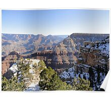 Grand Canyon Snow Poster