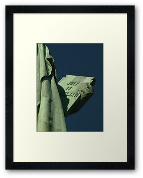 Lady Liberty by Simon Evans