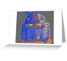 Artistic Gundam Greeting Card