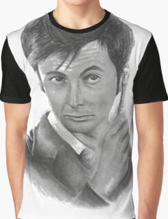 David Tennant from Doctor Who Graphic T-Shirt