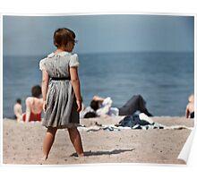 Lake Ontario beach 19570530 0017   Poster
