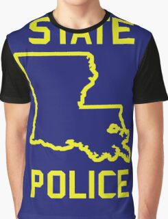 True Detective - Louisiana State Police Graphic T-Shirt