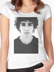 Robert Sheehan Women's Fitted Scoop T-Shirt