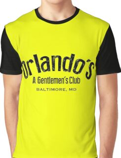 The Wire - Orlando's Gentlemen's Club Graphic T-Shirt