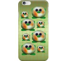 Green Fuzzy Aliens iPhone Case/Skin