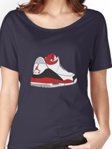 Fire Red 3's Women's Relaxed Fit T-Shirt