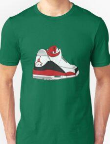 Fire Red 3's Unisex T-Shirt