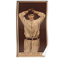 Benjamin K Edwards Collection Richard Marquard New York Giants baseball card portrait 002 Poster