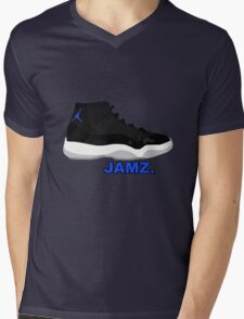 Space Jamz. Mens V-Neck T-Shirt