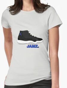 Space Jamz. Womens Fitted T-Shirt