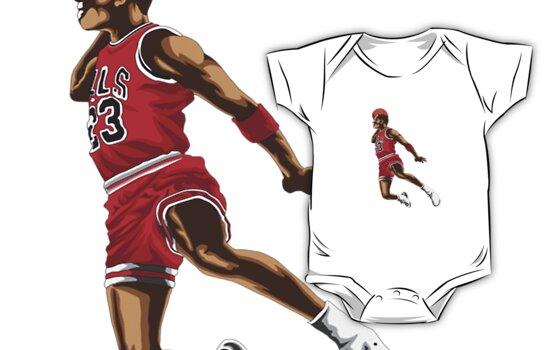 """""""Michael Jordan"""" Kids Clothes by Dancas"""