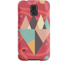 Mountains Floating in a Busy Space Samsung Galaxy Case/Skin
