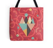 Mountains Floating in a Busy Space Tote Bag