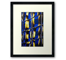 Denver reflection 24 Framed Print
