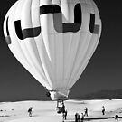Ballooning at White Sands by Mitchell Tillison
