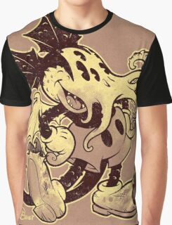 MICKTHULHU MOUSE (monochrome) Graphic T-Shirt