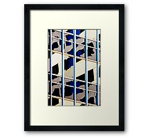 Denver reflection 27 Framed Print