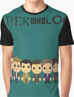 SupercuteWhoLock Graphic T-Shirt