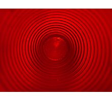 Red Reflections Photographic Print