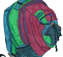 Backpack by Ashley Riemer