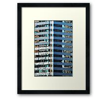 Denver reflection 29 Framed Print