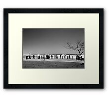 Watching The Surf #1 Framed Print
