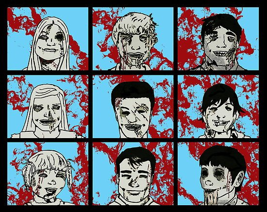 The Zombie Bunch by Raz Solo