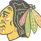 Chicago Blackhawks Typography Logo by TheHammer417