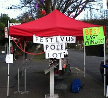 Festivus Pole Lot by Mike Cressy