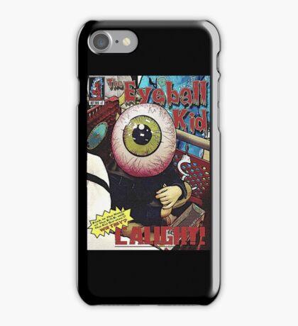 The Eyeball Kid: Comic Cover iPhone Case/Skin