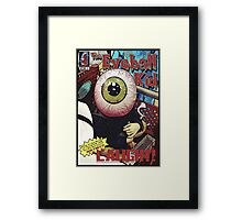 The Eyeball Kid: Comic Cover Framed Print