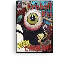 The Eyeball Kid: Comic Cover Canvas Print