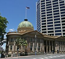 Customs House building, Brisbane by Margaret  Hyde