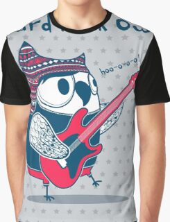 hard rock owl Graphic T-Shirt